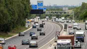 Drivers face £100 motorway fine amid new camera charge | Bury Times - Bury Times