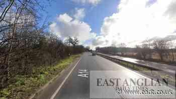 A14: Two vehicle crash closes lane near Bury St Edmunds - East Anglian Daily Times