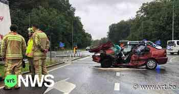 Zwaar ongeval in Tielt-Winge: 27-jarige moeder in levensgevaar, peuter lichtgewond - VRT NWS