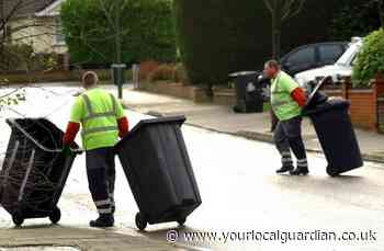 Croydon Council bins: Postcodes being collected today