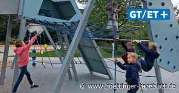 Wiedereröffnung: Spielplatz als Berglandschaft in Kirchroder Wohngebiet