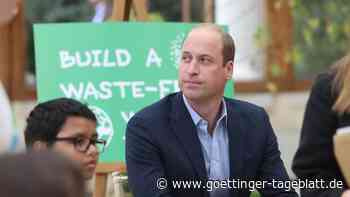 Prinz William nach Shatner-Flug ins All:Klimaschutz wichtiger als Weltraumtourismus