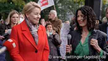 Berlin-Wahl: Giffey kündigt vorerst ausschließliche Sondierungen für Rot-Grün-Rot an