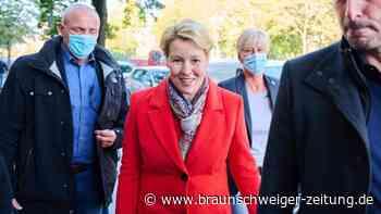 Giffey bahnt in Berlin Verhandlungen über Rot-Grün-Rot an
