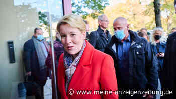 Berliner Abgeordnetenhaus: Giffeys Entscheidung zu Sondierungen mit Grünen und Linken sorgt für Kritik
