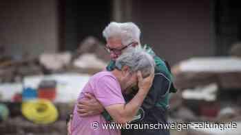 Nach der Flut im Ahrtal: Tränen und Zukunftssorgen
