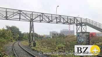 Historische Braunschweiger Bahnbrücke wird abgerissen