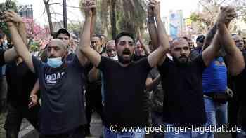 Nach Explosion im Hafen von Beirut: Sechs Tote bei Protesten gegen Ermittlungsrichter