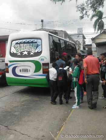 Transportistas están cubriendo la ruta para parroquia Mosquey de Boconó - Diario de Los Andes