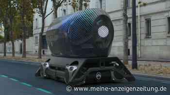 Citroën schickt UFO durch Paris –das steckt hinter dem Fahr-Objekt