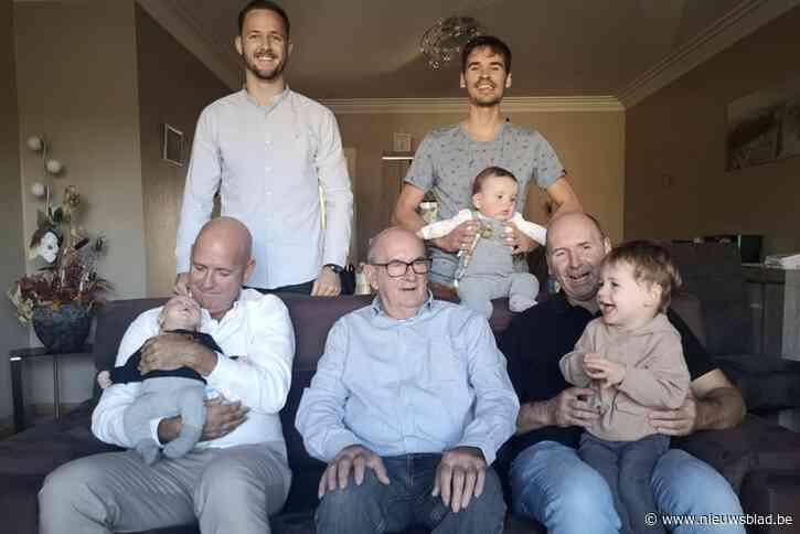 Driedubbel viergeslacht bij de familie Penneman