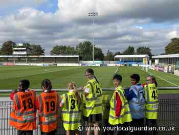 Sutton United welcome school children with promotion funding