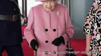 Mit Gehstock: Queen eröffnet walisisches Parlament