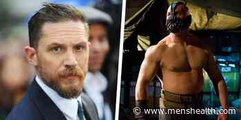"""Tom Hardy: I Was """"Really Overweight"""" for Bane Transformation in Dark Knight Rises - Men's health UK"""