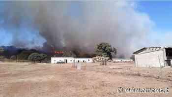 """Santu Lussurgiu brucia ancora. Il Sindaco: """"Non se ne può più"""" - ORnews"""