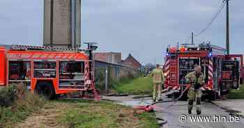 Brand uitgebroken bij enige patrijzenboerderij van het land - Het Laatste Nieuws