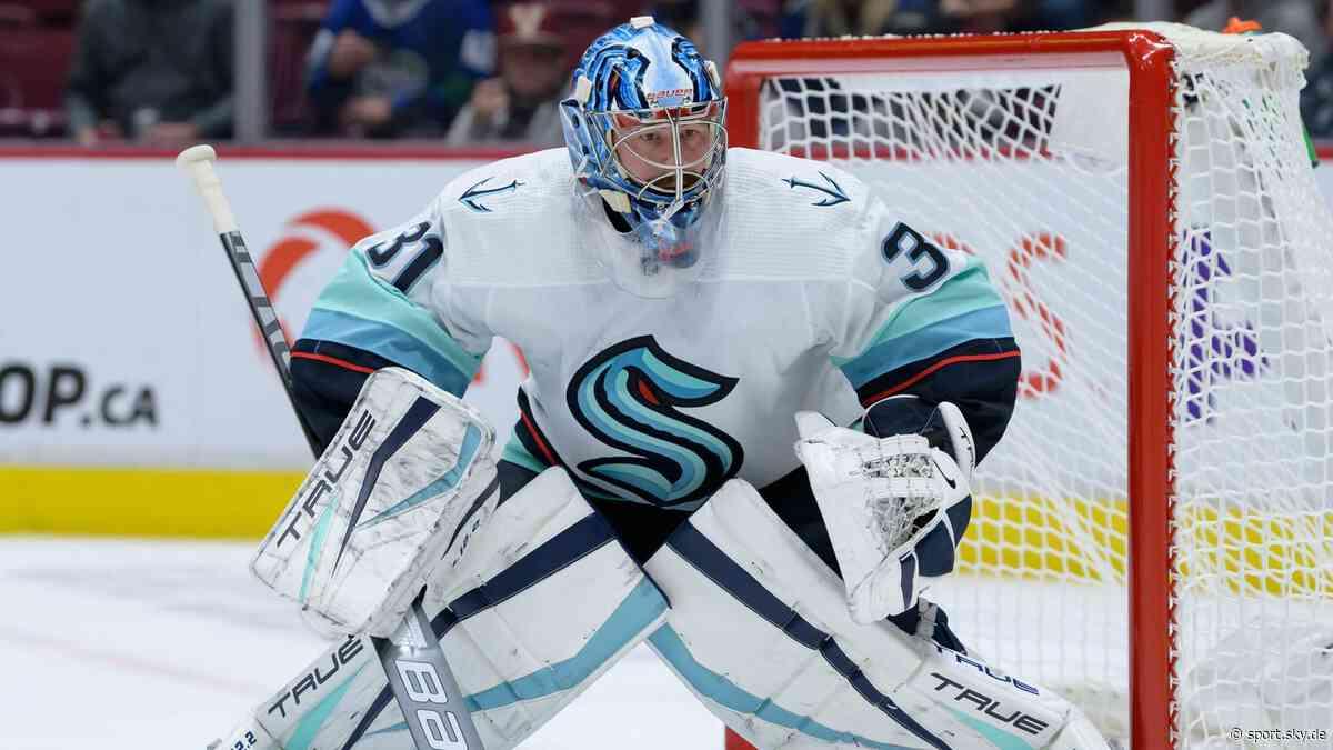 NHL News: Philipp Grubauer von Seattle Kraken will zu Olympia - Sky Sport
