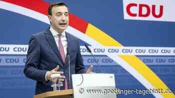 Liveblog: CDU-Generalsekretär Ziemiak wirft SPD Linkskurs vor