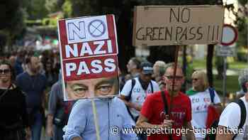 Trotz heftiger Proteste: Corona-Pass tritt in Italien in Kraft – 23 Millionen Menschen betroffen
