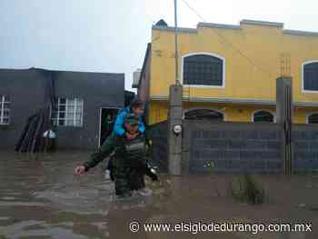 Ejército rescata a 5 familias en El Salto - El Siglo Durango