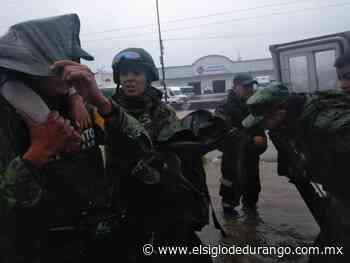 Ejército evacúa a familias afectadas por lluvias en El Salto - El Siglo Durango