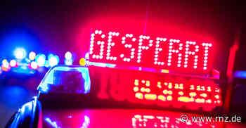 Mannheim:  L597 nach Unfall gesperrt
