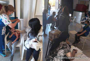 Continúa la vacunación para los más pequeños en la Villa de Merlo - Agencia de Noticias San Luis