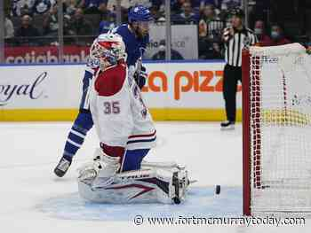 Samuel Montembeault will start in goal for Canadiens in Buffalo - Fort McMurray Today