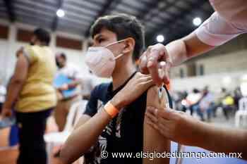 Arranca próxima semana vacunación en Durango para menores de 12 a 17 años con comorbilidades - El Siglo Durango