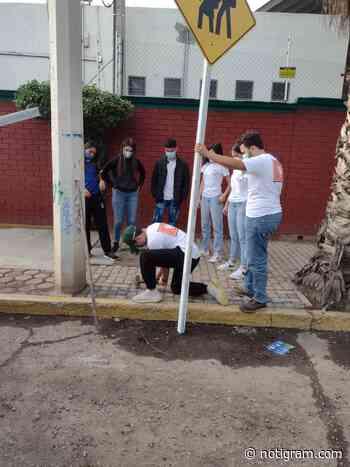 Ingeniería Vial realizó trabajos de señalización en calles de Durango - Notigram