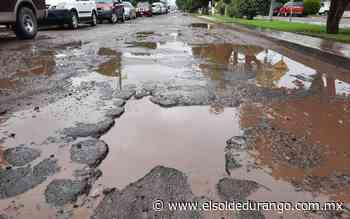 En mal estado acceso a Santiago Papasquiaro, Durango - El Sol de Durango