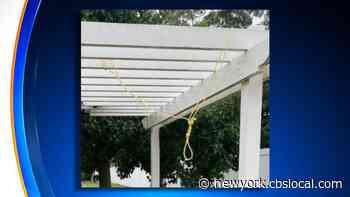 Police: Noose Found Hanging Behind North Amityville Senior Center - CBS New York