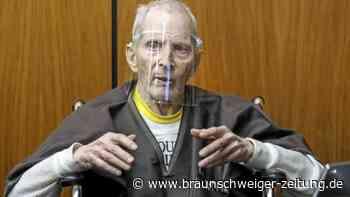 Robert Durst erhält lebenslange Haftstrafe wegen Mordes