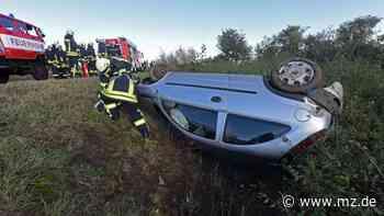 Schwerer Unfall auf der A36 bei Aschersleben - Mitteldeutsche Zeitung