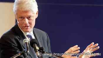 Bill Clinton in Krankenhaus eingeliefert