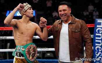 ¿Le marcó su límite en el boxeo? Óscar de la Hoya dijo quién vencería a Ryan Garcia - Bolavip México