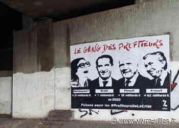 """Affiche géante à Vienne pour dénoncer """"les profiteurs de la crise"""" - Vivre villes"""