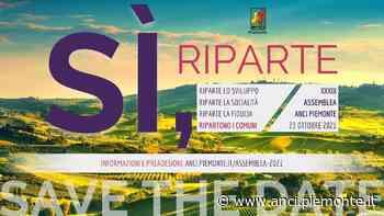 A Vercelli la XXXIX Assemblea di ANCI Piemonte | 23/10 ore 9 - ANCI Piemonte