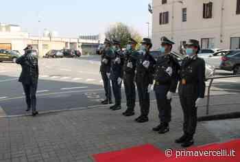 Guardia di Finanza Vercelli: visita del comandante regionale - Prima Vercelli