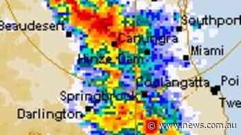Storm threat evolves as supercell morphs - NEWS.com.au
