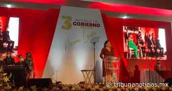 3er Informe | 'Desde que tomé protesta sabía que el camino no iba a ser nada sencillo': Norma Layón - Tribunanoticias