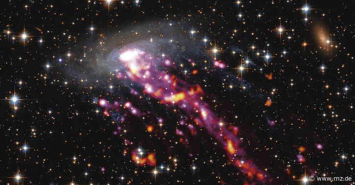 Heidelberg:  Max-Planck-Projekt sucht Galaxien, die wie Quallen aussehen