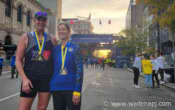 Wadena women finish Boston Marathon - Wadena Pioneer Journal