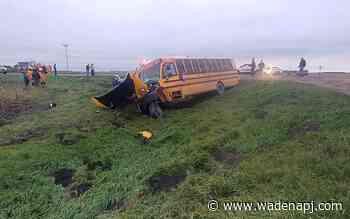 4 students injured in Clay County bus crash - Wadena Pioneer Journal