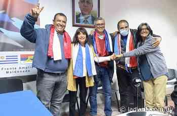 Frente Amplio de Maldonado nombró a los cinco candidatos para la presidencia departamental - la diaria