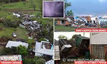 Tornado rips through Armidale in the NSW Northern Tablelands leaving behind a path of destruction