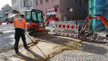 Baustelle in der Hagenstraße Haldensleben bleibt bestehen - Volksstimme