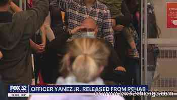 Wounded Chicago Officer Yanez Jr. released from rehab - FOX 32 Chicago