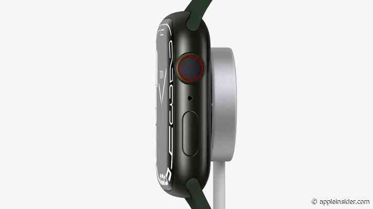 Fast charging the Apple Watch Series 7 requires 5W USB-C PD adapter or better