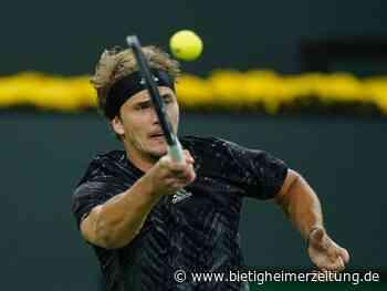 Tennis: Zverev erreicht Viertelfinale in Indian Wells - Bietigheim-Bissingen - Bietigheimer Zeitung